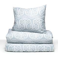 Lennol | MILJA Ornamental duvet cover, light blue. Designed by Kaisi Koivumäki. Also available in queen size.