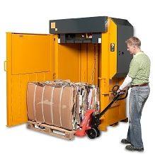Bramidan X30 Baler #recycling #heavydutybaler #lowprofilebaler #cardboardbaler #reducereuserecycle