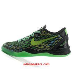 03517498e426 Nike Kobe VIII 8 System green mesh Shoes  Green  Shoes