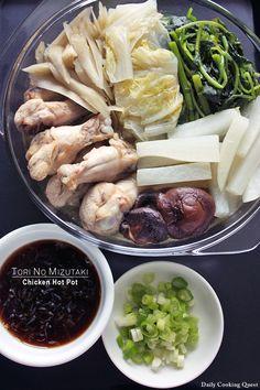 Tori No Mizutaki - Japanese Chicken Hot Pot