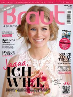 Ausgabe 2-2014 #Brautmagazin #Hochzeitsmagazin #Inspiration #Braut&Bräutigam #Brautmode #Hochzeitsmode