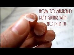(5) How to play guitar without pain!! :) - YouTube