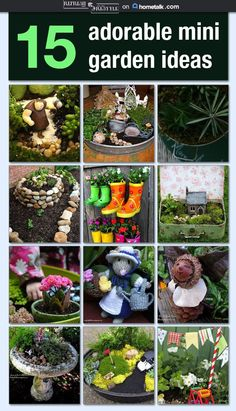 Adorable Mini Garden Ideas Refresh Restyle Junk Love Pots