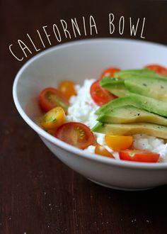 California Cottage Cheese Bowl - Low carb und absolut köstlich