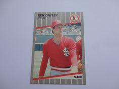 Ken Dayley Pitcher St. Louis Cardinals
