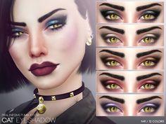 Eyeshadow in 12 colors  Found in TSR Category 'Sims 4 Female Eyeshadow'