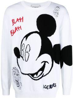 Mickey print jumper