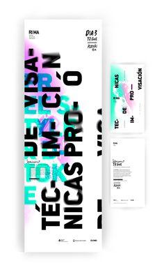 RIMA / Festival de hip hop alternativo by Federico Molinari, via Behance Typography Poster Design, Graphic Design Posters, Layout Inspiration, Graphic Design Inspiration, Book Design, Layout Design, Brochure Design, Branding Design, Poster Art