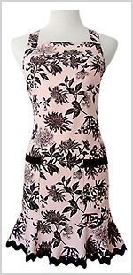 """""""Pink Mocha"""" Sheath Apron from Hip Hostess ~ too pretty to spill anything on it :)"""
