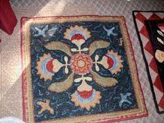 square Floral design