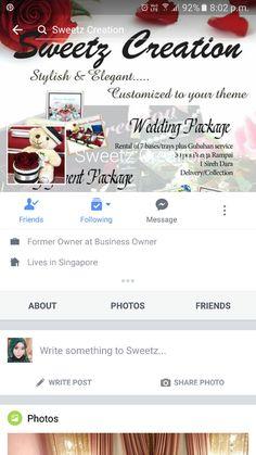 Sweetz creation @ facebook