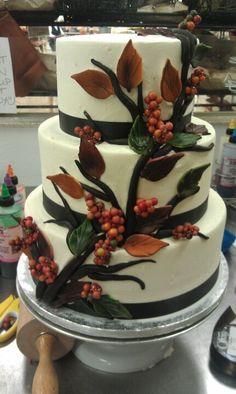 #weddingcake #fall