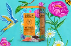 15 Colorful Summer Packaging Designs