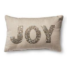 Threshold™ Joy Oblong Pillow - Gold
