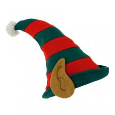 2 X Elf Hat With Pixie Ears Xmas Christmas Santa Fancy Dress Costume Accessories & Garden Elf Costume, Girl Costumes, Costume Ideas, Christmas Hat, Christmas Costumes, Elf Hut, Pixie Ears, Santa's Little Helper, Ear Hats