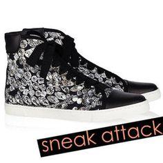 Shop High-Top Sneakers — Spring 2012 Shoe Trends