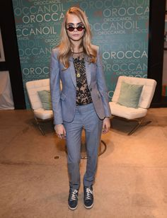 Cara Delevingne at a Variety Studio event hosted by Moroccanoil at Holt Renfrew in Toronto. See all of the model's best looks.