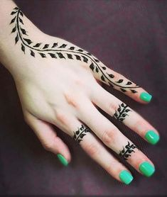Simple henna tattoo designs for girls and beginners 09012019 - tatoo . - Simple henna tattoo designs for girls and beginners 09012019 – tatoos – - Henna Tattoo Designs Simple, Finger Henna Designs, Mehndi Designs For Beginners, Mehndi Designs 2018, Mehndi Designs For Fingers, Best Mehndi Designs, Mehndi Simple, Unique Henna, Easy Hand Henna