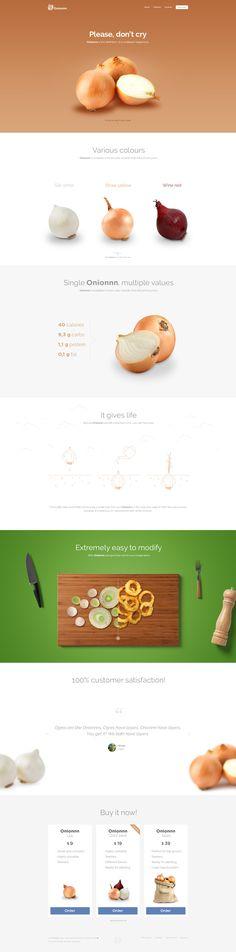 Onionnn landing page