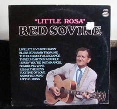 Red Sovine Little Rosa Lp Near Mint