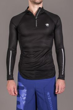 Endomondo Alban Running Long Sleeve Tee with reflective detailing