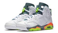 Air Jordan 6 (VI) Retro GG White Ghost Green-Hasta-Bright Mango 384665-114   384665-114  -  89.00   a7ddbdd69