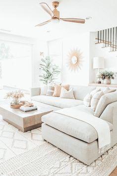 Home Living Room, Apartment Living, Living Room Designs, Living Room Decor, Dream Home Design, Home Interior Design, House Design, Dream House Exterior, Dream House Plans
