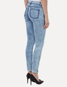 Moon Washed 5-Pocket-Jeans