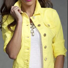 Love the color...I want this Jacket...