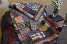 square plaids quilt