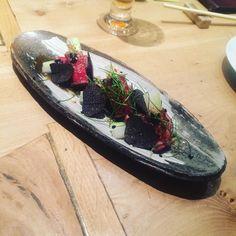 #beef#tataki#truffles#london#restaurant#roca#foodporn#instafood by bartek19866