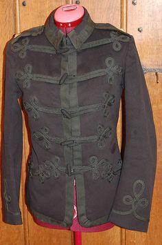 Royal Artillery Officers Patrol Jacket c1900.