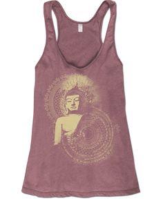 Organic Buddha Tank: Soul Flower Clothing