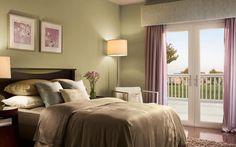 Dormitorio ambiente tranquilo
