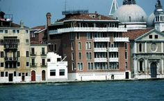 Casa delle Zattere as seen from across the canal