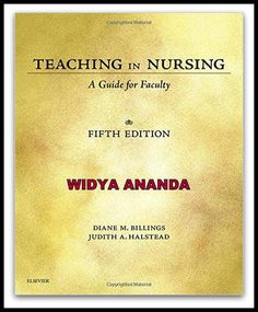 Teaching in Nursing: A Guide for Faculty 5th Edition  by Diane M. Billings EdD RN FAAN (Author), Judith A. Halstead PhD RN ANEF FAAN (Author)   Product Details 	Paperback: 576 pages 	Publisher: Saunders; 5 edition (December 15, 2015) 	Language: English 	ISBN-10: 032329054X 	ISBN-13: 978- 	Product Dimensions: 7.5 x 0.7 x 9.2 inches  	Shipping Weight: 1.8 pounds  Set yourself up for success as a nurse educator with the award-winning Teaching in Nursing: A Guide for Faculty, 5th Edition…