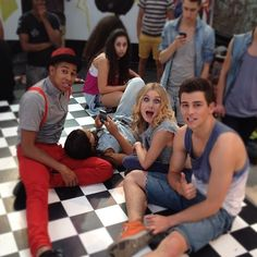 Dance Academy season 3.... I love the new characters they had in series 2.... Grace,Ben,and Ollie <3333