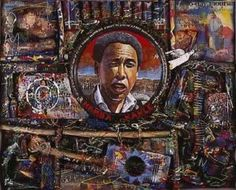 Hamba Kahle by Willie Bester - Pigozzi Collection 2014 - Contemporary African Art Collection Harlem Renaissance Artists, Protest Art, Contemporary African Art, South African Artists, Political Art, Black Artists, American Artists, Collage Art, History