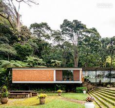 Residence in Petropolis, Brazil. Architect Sergio Bernardes, 1951