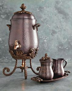 GG Collection Coffee Service from Horchow