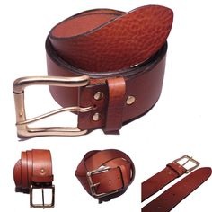 Great new addition to our 2 Inch wide #leather #belt collections. Take a few minutes to look through all our range at Buckle My Belt