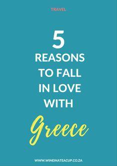 5 Reasons to fall in love with Greece! #greece #lovegreece #greektravel