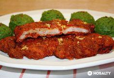Vasi pecsenye sertéstarjából Pork Dishes, Atkins, Meatloaf, Tapas, Paleo, Food And Drink, Favorite Recipes, Beef, Meals
