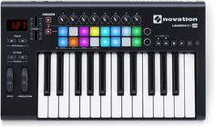 Launchkey is Novation's easy-to-use MIDI keyboard controller. It's pretty much the quickest and easiest way to produce and perform electronic music, especially in Ableton Live – because we designed it