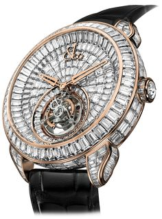 Rolex Men Gold Watch Jacob Co.'s Palatial Opera Flying Tourbillon Timepiece with Rose Gold case set w… Patek Philippe, Tourbillon Watch, Silver Pocket Watch, Swiss Army Watches, Omega, Beautiful Watches, Nice Watches, Casual Watches, Seiko Watches