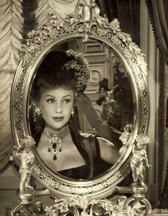 Martine Carol 1950s #movie #Star #glamour