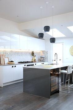 Simple Caesarstone Kitchen Counters Chic Design Looks