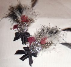feather corsages