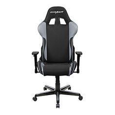 DXRacer-Black & Gray-Best gaming chairs-Bucket seat office chair-Ergonomic computer chair-High back desk chair-FE11NG by Newedge on Opensky