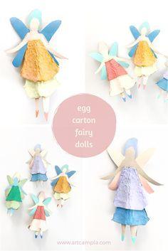 Egg Carton Fairy Dolls 15